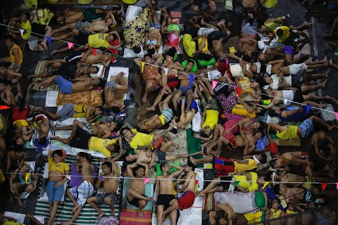 Philippines drug war turns jail into a haven