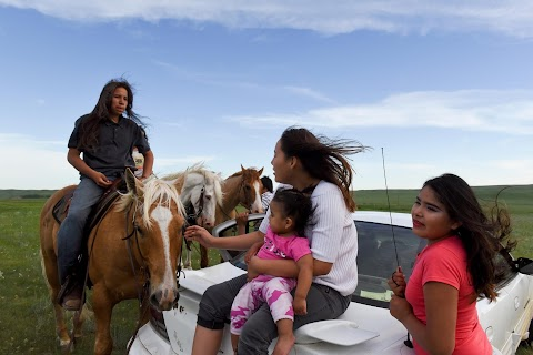 Riding with Native Americans to mark pact anniversary