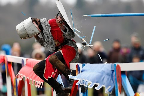 Medieval sport in modern times
