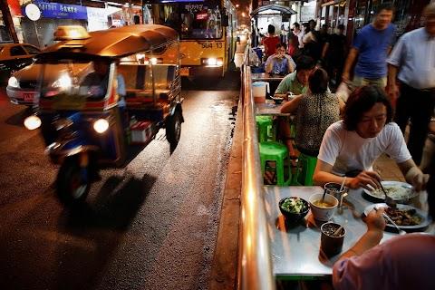 Bright lights of Bangkok