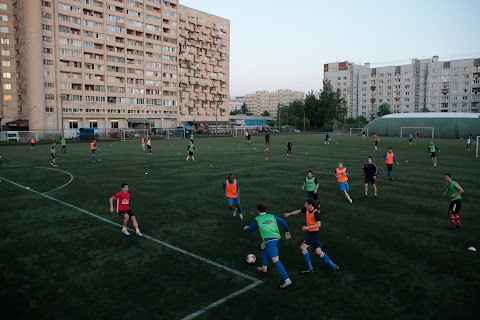 Migrants play soccer in World Cup city St Petersburg