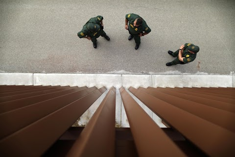 Iraqi migrant trains at U.S. Border Patrol Academy