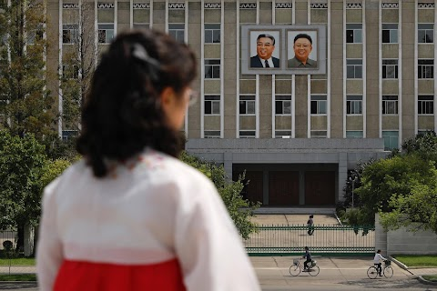 Portraits of a dynasty: North Korea's ever-present Kims