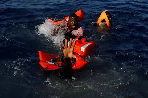 Rescue on the Mediterranean