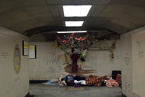 Homelessness: Christmas on the streets of London