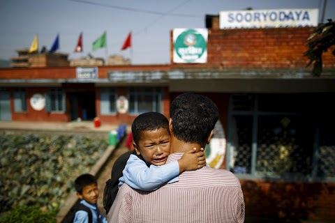 Nepal returns to school