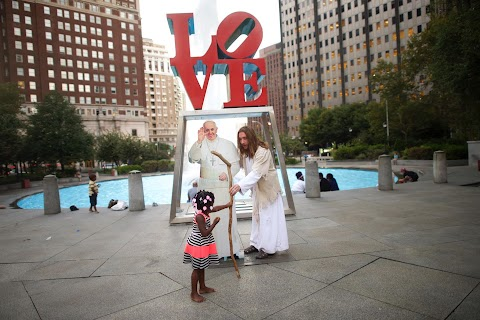 Philly's Pop-Up Pope