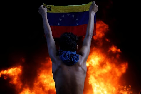 Year of protests and crisis in volatile Venezuela