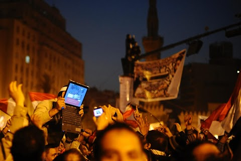Revolution in Tahrir Square