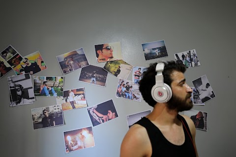 Gaza rapper hopes to make his mark