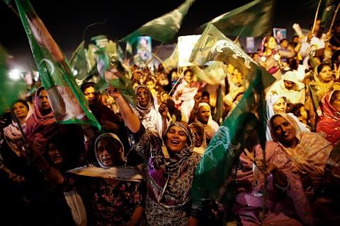 Women voters of Pakistan