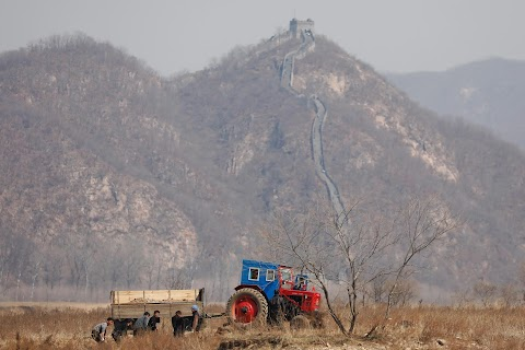 Evidence of strained ties on China-North Korea border