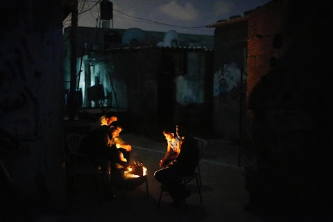 Gaza by night