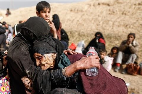 Ninety-year-old escapes Mosul