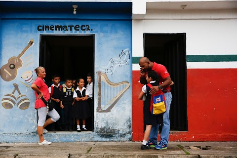 Kids and teachers ditch school in crisis-hit Venezuela