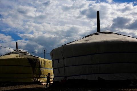 Mongolia's tent city