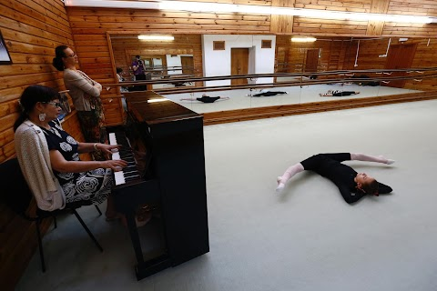 Gymnast stretches for success