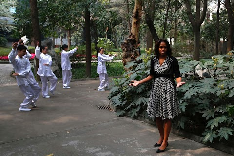 Michelle Obama tours China
