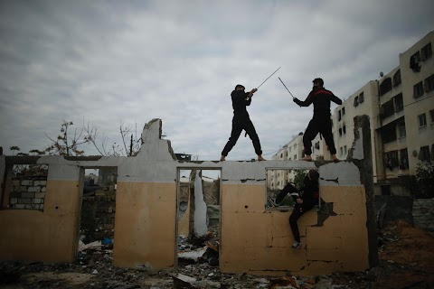 Ninjas, Gaza style