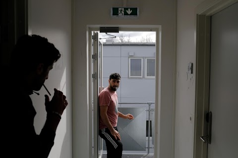 Failed asylum seekers wait in rural Danish departure centre