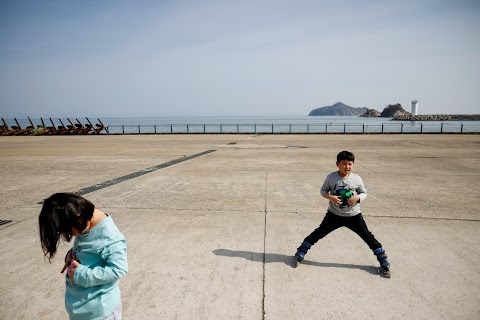 The last children on South Korea's ageing island