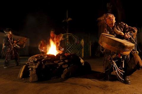 Shaman rituals in Siberia