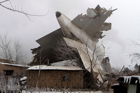 Jet crash in Kyrgyzstan