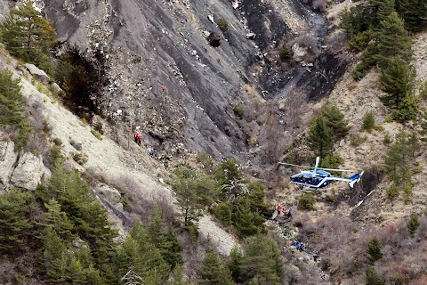 Crash in the French Alps