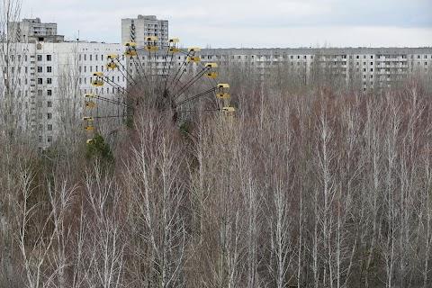 Entombing Chernobyl