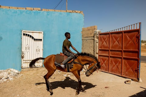 Meet the teenage Senegalese jockey racing to fame