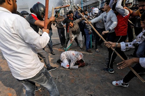 A mob out for blood: India\u0027s protests pit Hindus against Muslims