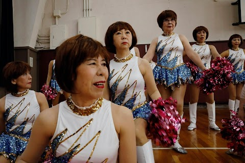 Don\u0027t call us grannies: Meet Japan\u0027s senior cheer squad