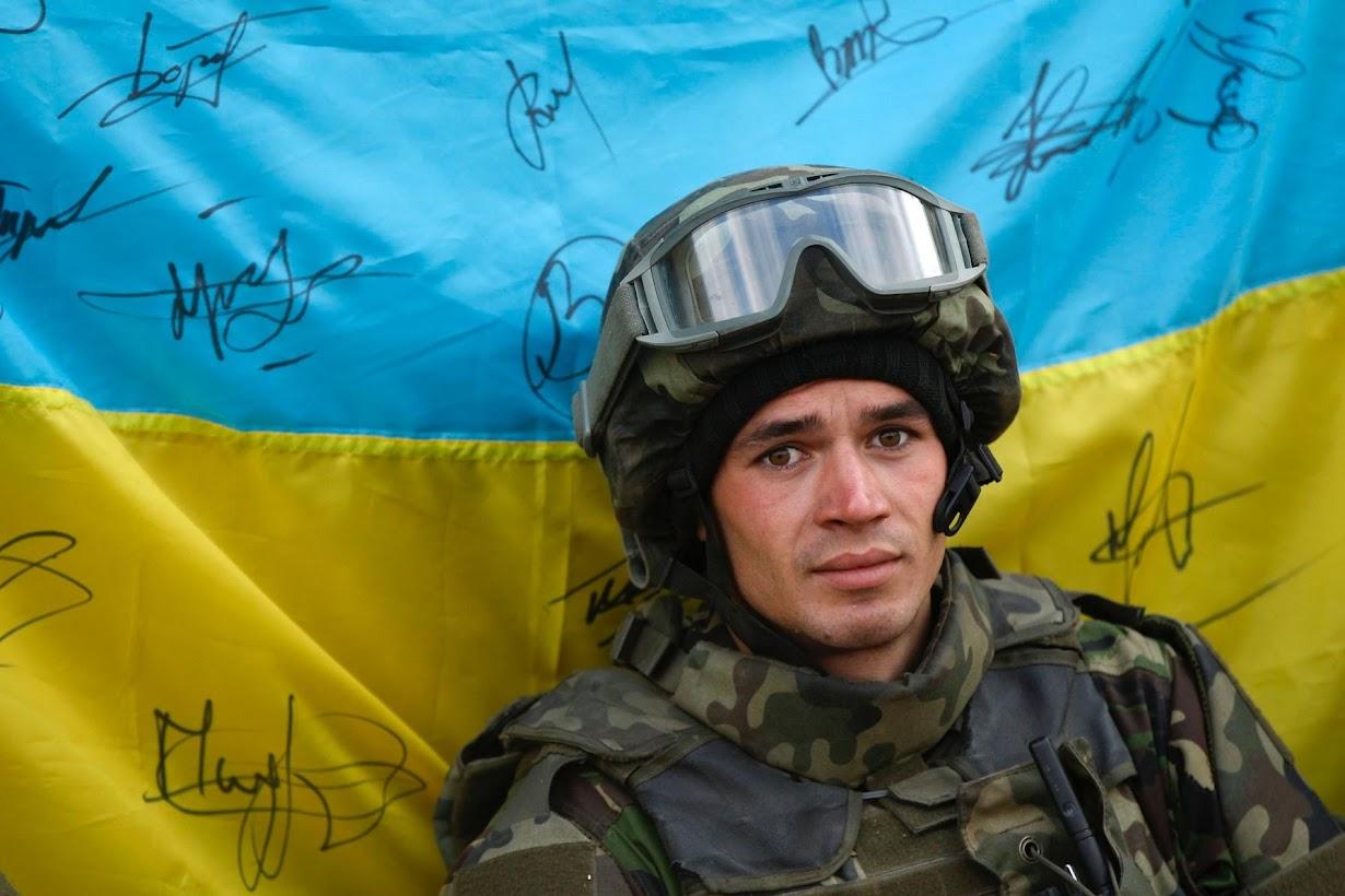 картинки для украинского воина что черный цвет