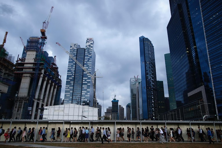Earthprints: Singapore | The Wider Image | Reuters