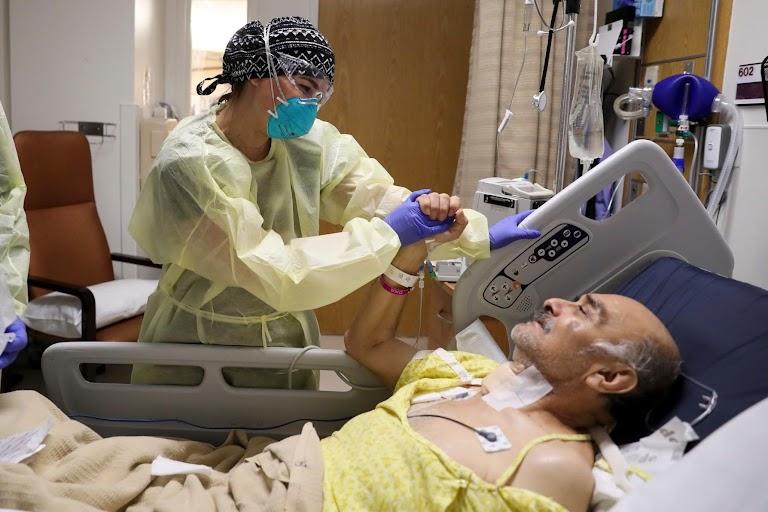 A pregnant doctor navigates COVID-19 fight in low income LA