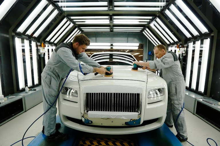 Rolling Off The Production Line The Wider Image Reuters