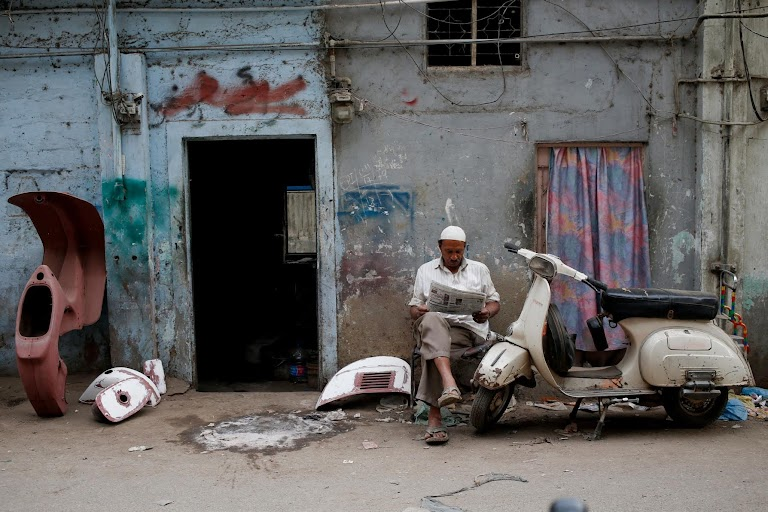 A labour of love: Vespa in Pakistan | The Wider Image | Reuters