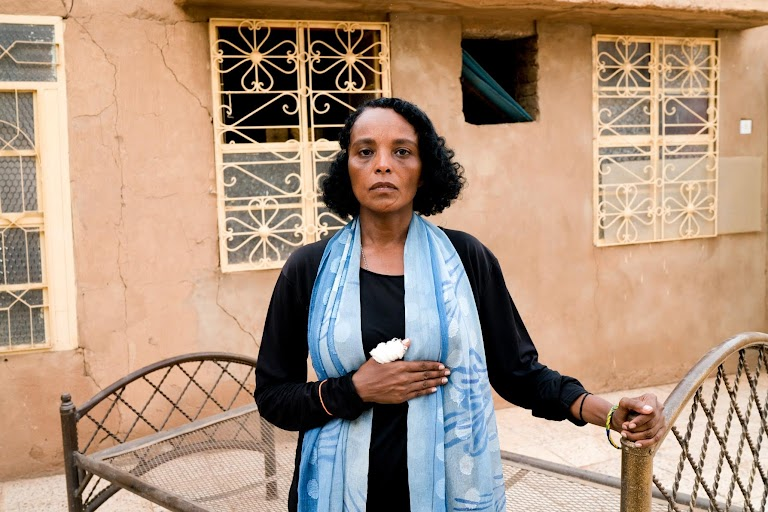 Beaten and abused, Sudan's women bear scars of fight for freedom by Umit Bektas