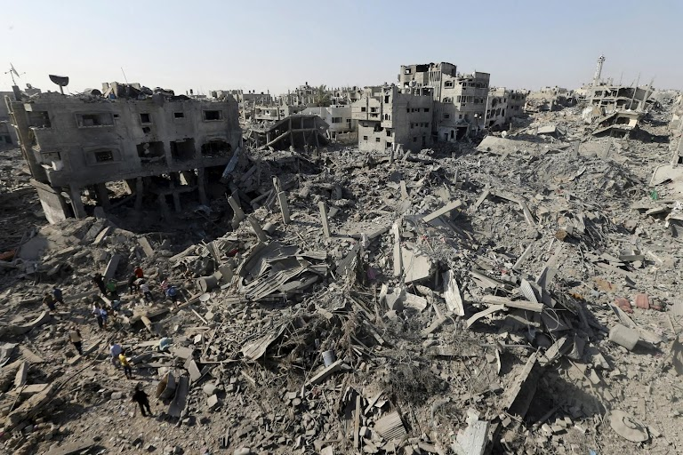 Gaza war, a year on   The Wider Image   Reuters