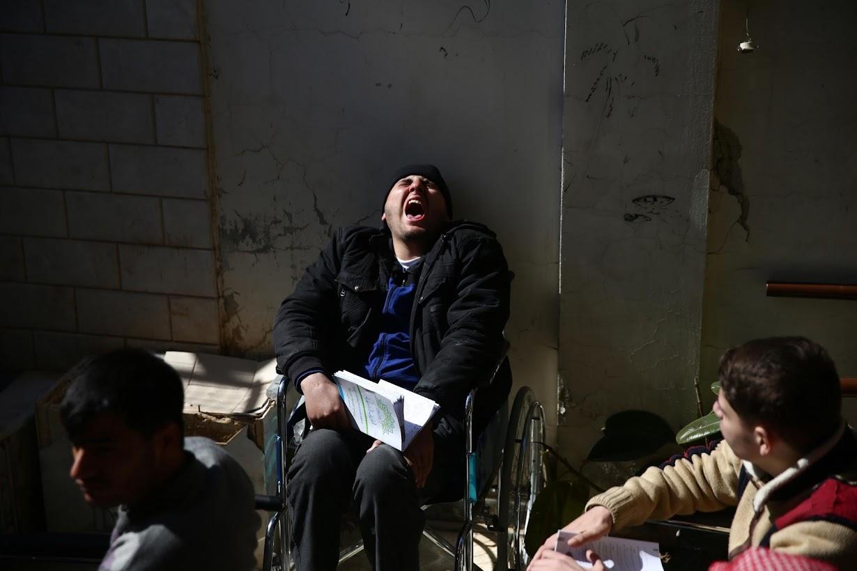 シリア首都ダマスカスで2月撮影(2017年 ロイター/BASSAM KHABIEH)
