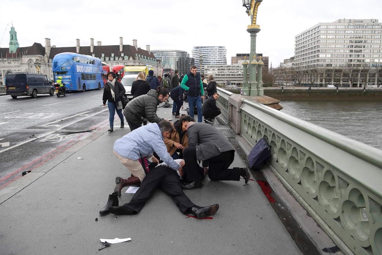 ロンドンで22日撮影(2017年 ロイター/TOBY MELVILLE)