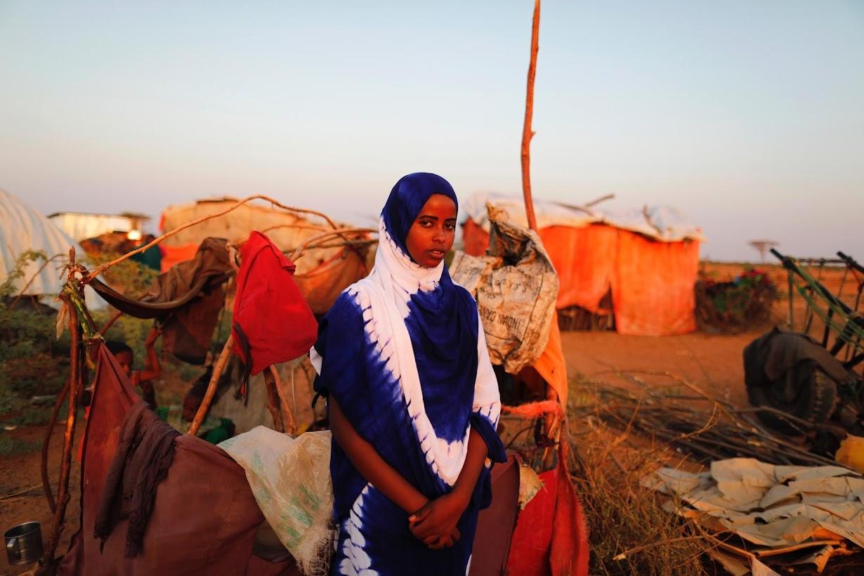 ソマリアのドーロで2日撮影(2017年 ロイター/Zohra Bensemra)