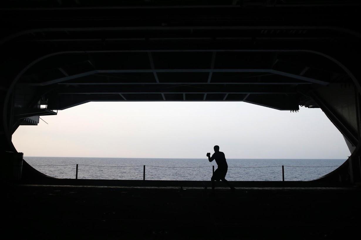 地中海で6月14日撮影(2016年 ロイター/Baz Ratner)