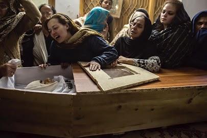 Mourning in Peshawar