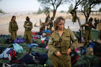 Women of the Israeli army